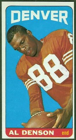 Al Denson 1965 Topps football card