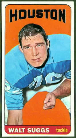 Walt Suggs 1965 Topps football card