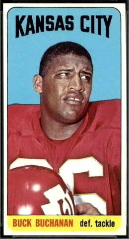 Buck Buchanan 1965 Topps football card
