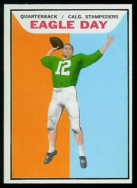 Eagle Day 1965 Topps CFL football card
