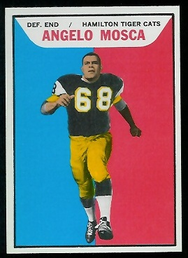 Angelo Mosca 1965 Topps CFL football card