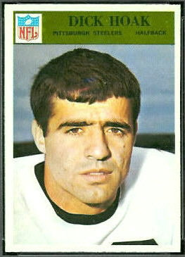 Dick Hoak 1966 Philadelphia football card