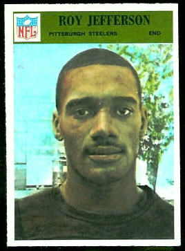 Roy Jefferson 1966 Philadelphia football card