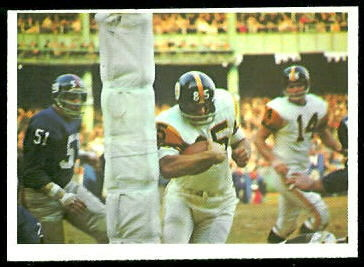 Steelers Play 1966 Philadelphia football card