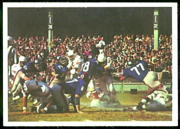 Cardinals Play 1966 Philadelphia football card
