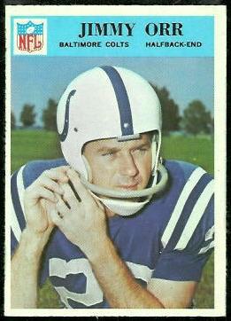 Jimmy Orr 1966 Philadelphia football card