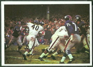 Bears Play 1966 Philadelphia football card