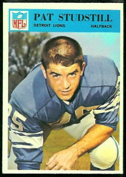 Pat Studstill 1966 Philadelphia football card
