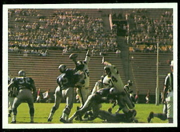 Lions Play 1966 Philadelphia football card