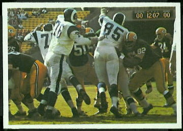 Packers play 1966 Philadelphia football card