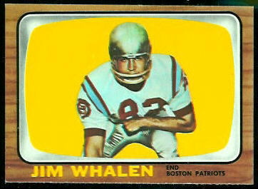 Jim Whalen 1966 Topps football card