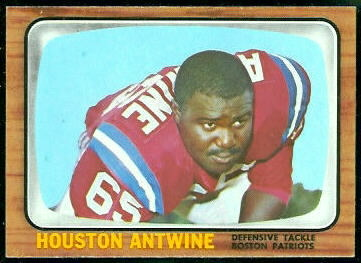 Houston Antwine 1966 Topps football card