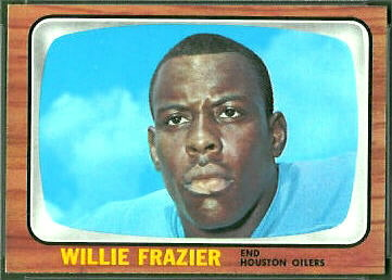 Willie Frazier 1966 Topps football card