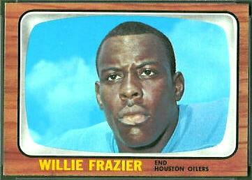 Willie Frazier 1966 Topps football card