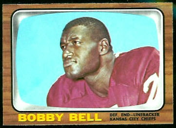 Bobby Bell 1966 Topps football card