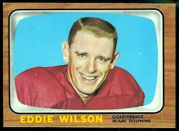 Eddie Wilson 1966 Topps football card