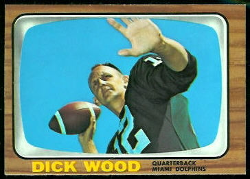 Dick Wood 1966 Topps football card