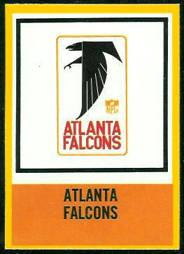 Falcons Logo 1967 Philadelphia football card