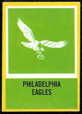 Eagles Logo 1967 Philadelphia football card
