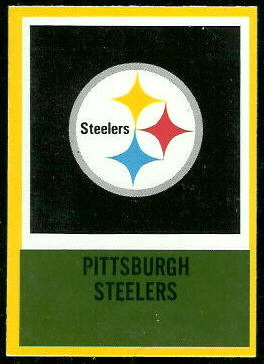 Steelers Logo 1967 Philadelphia football card