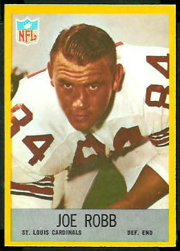 Joe Robb 1967 Philadelphia football card