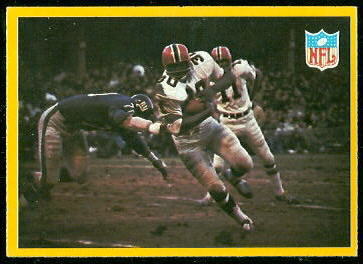 Falcons Play 1967 Philadelphia football card