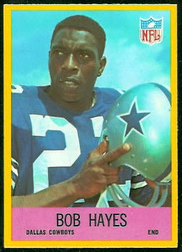 Bob Hayes 1967 Philadelphia football card