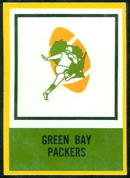Packers Logo 1967 Philadelphia football card
