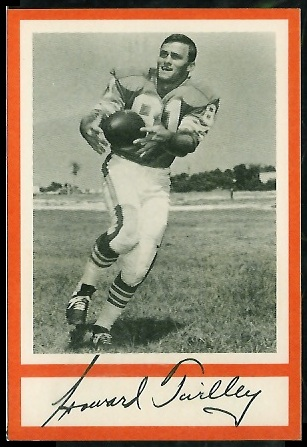 Howard Twilley 1967 Royal Castle Dolphins football card