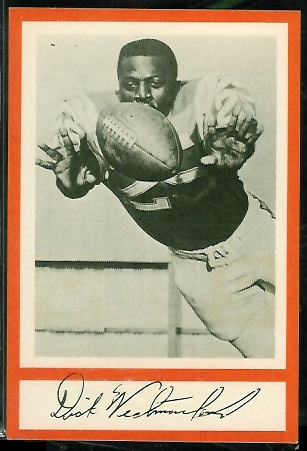 Dick Westmoreland 1967 Royal Castle Dolphins football card