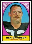 1967 Topps Ben Davidson