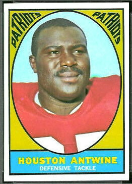 Houston Antwine 1967 Topps football card