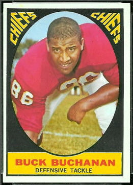 Buck Buchanan 1967 Topps football card