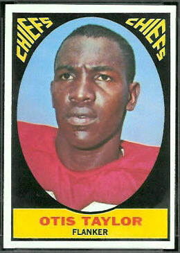 Otis Taylor 1967 Topps football card