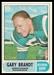 1968 O-Pee-Chee CFL Gary Brandt