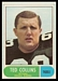 1968 O-Pee-Chee CFL Ted Collins