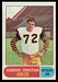 1968 O-Pee-Chee CFL Gordon Christian