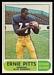 1968 O-Pee-Chee CFL Ernie Pitts