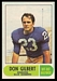 1968 O-Pee-Chee CFL Don Gilbert