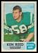 1968 O-Pee-Chee CFL Ken Reed