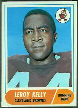 Leroy Kelly 1968 Topps football card
