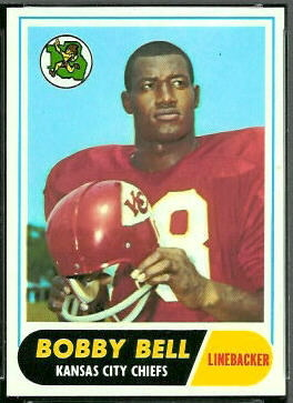 Bobby Bell 1968 Topps football card