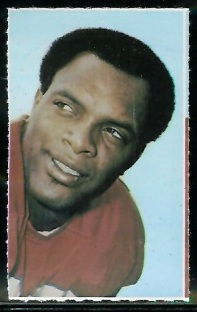 Al Denson 1969 Glendale Stamps football card