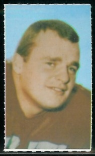 George Goeddeke 1969 Glendale Stamps football card