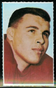 John Huard 1969 Glendale Stamps football card