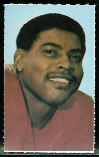 Rich Jackson 1969 Glendale Stamps football card