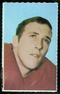 Fran Lynch 1969 Glendale Stamps football card