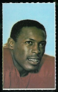 Floyd Little 1969 Glendale Stamps football card
