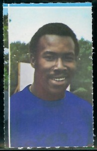 Lem Barney 1969 Glendale Stamps football card