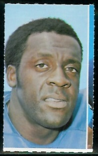 Jerry Rush 1969 Glendale Stamps football card